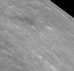 vue équivalente avec Google Moon