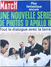 photo de couverture du Paris-Match du samedi 18 janvier 1969